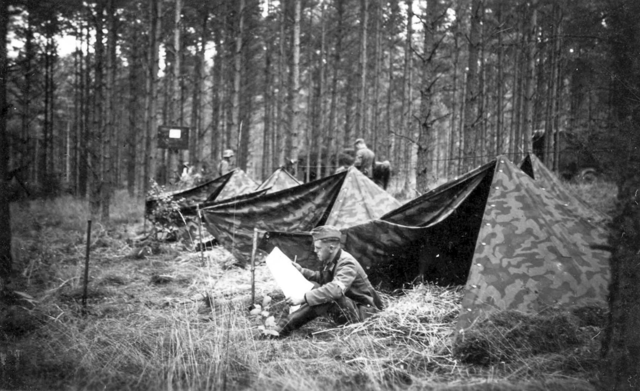Wehrmacht's camp