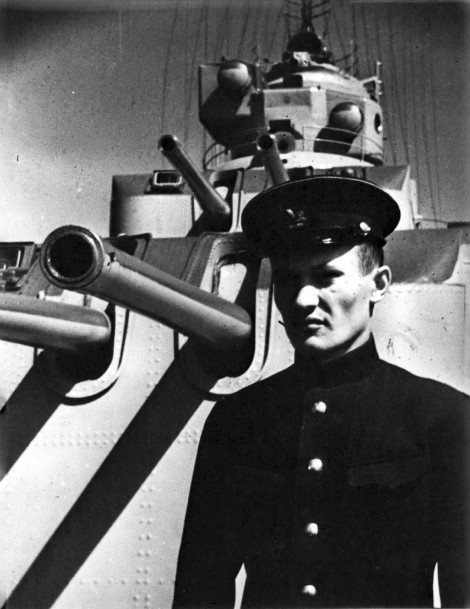 Lieutenant Alekseev