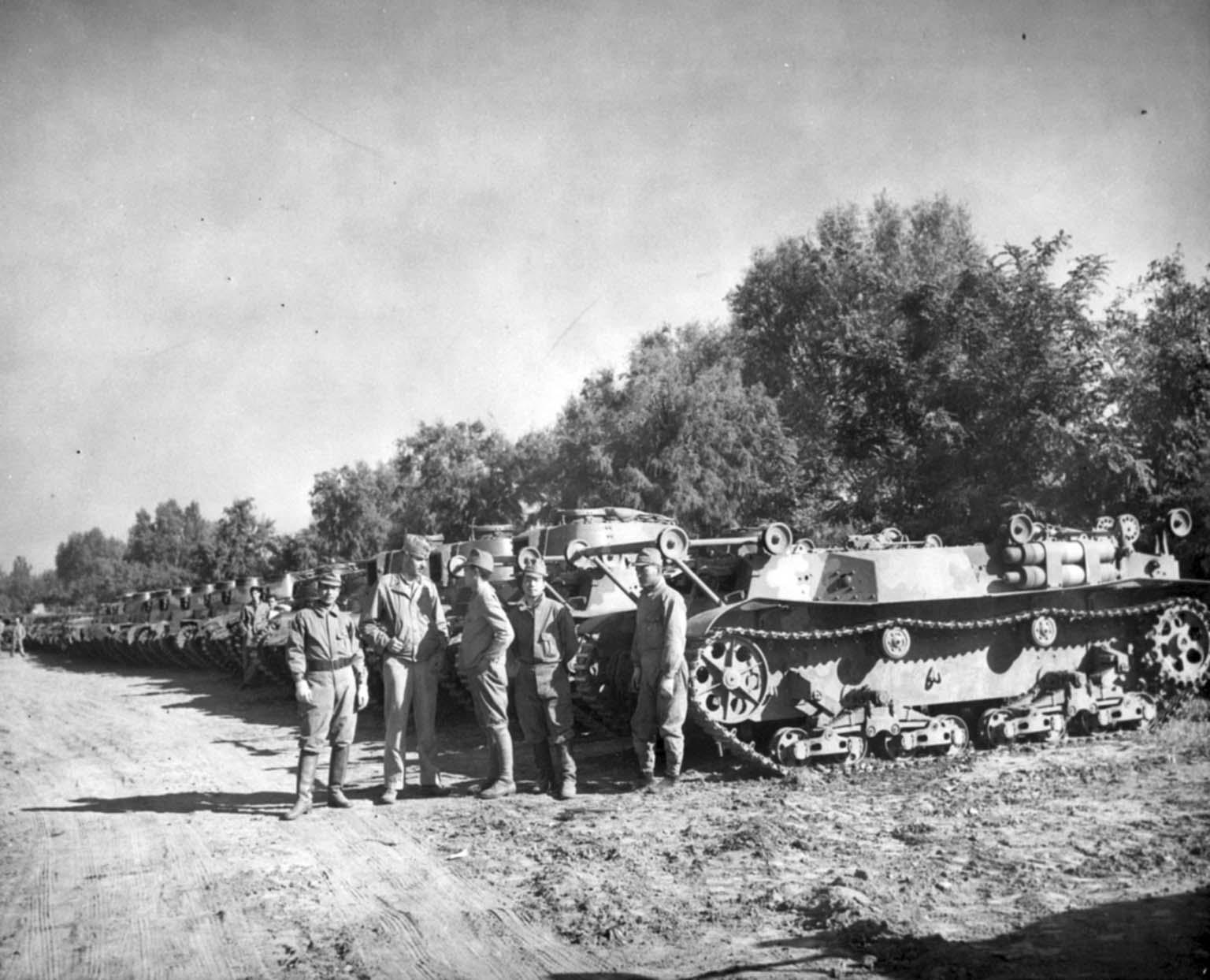 Japanese tank unit