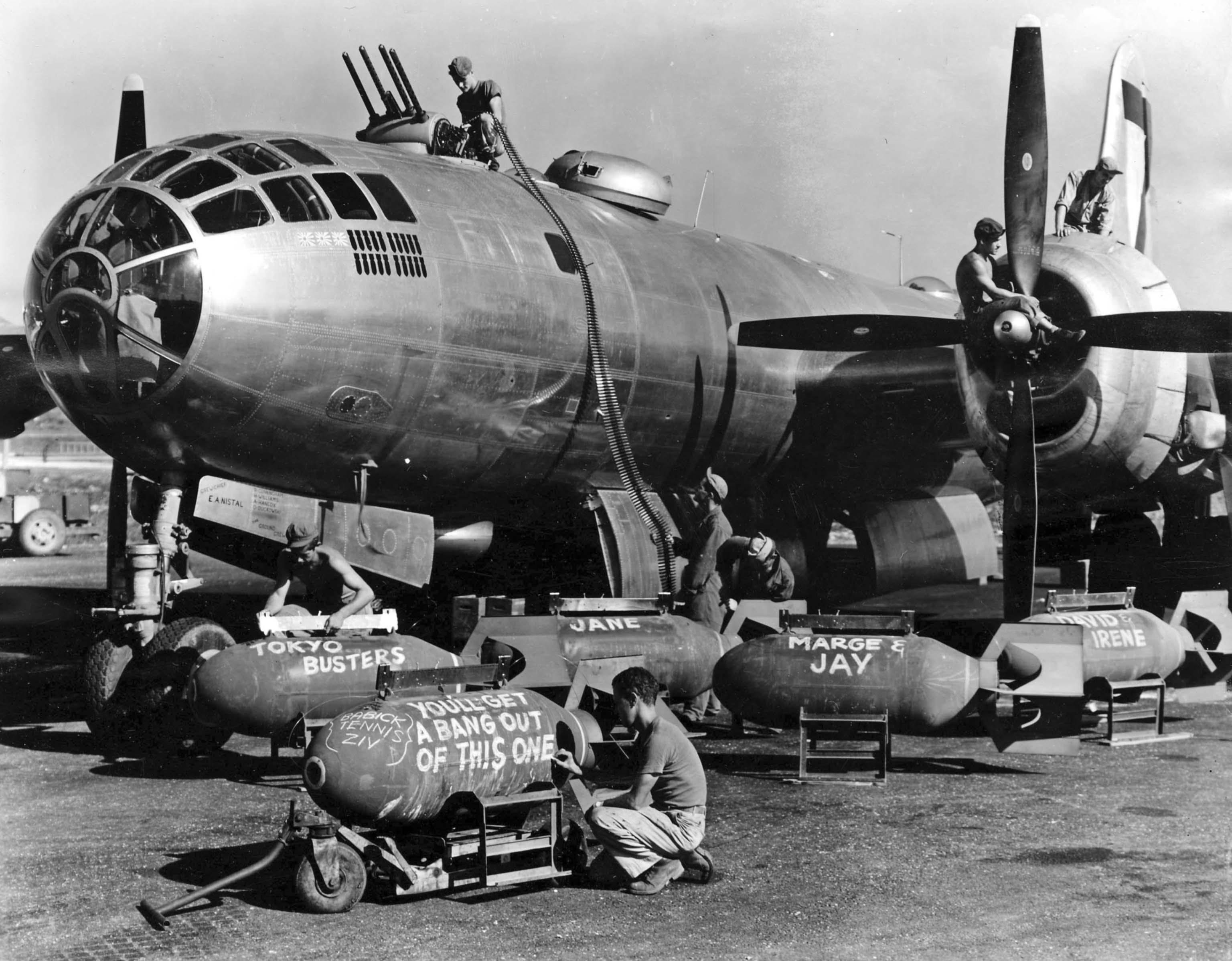 B-29 bomber
