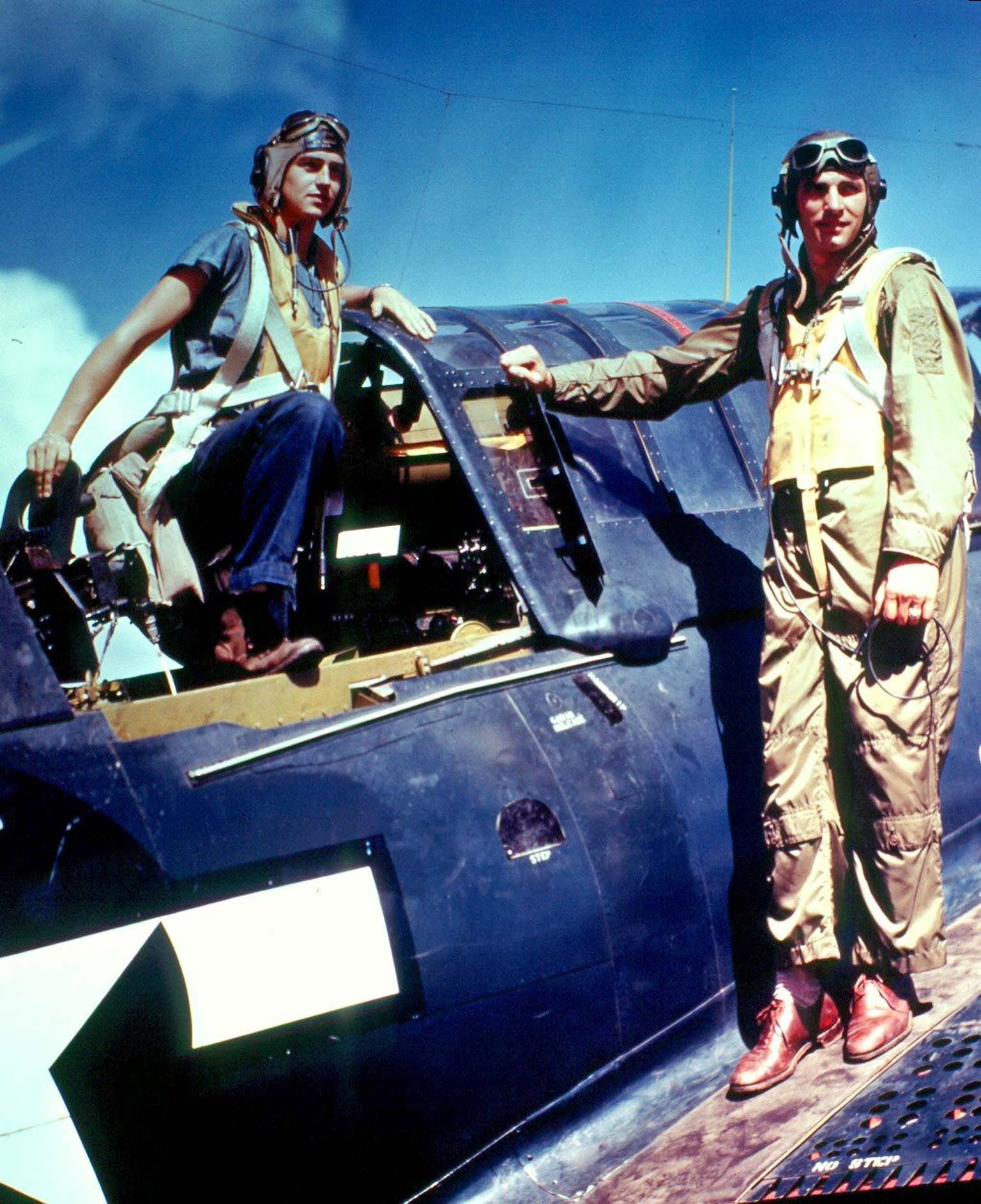 crew of SB2C Helldiver