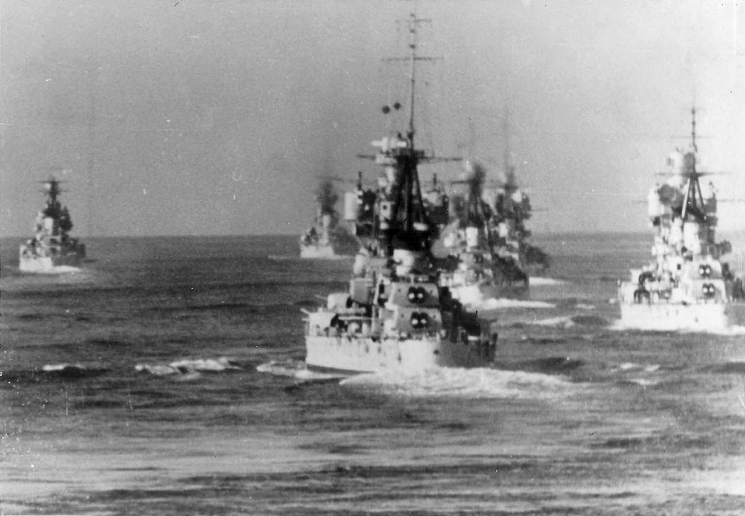 Italian heavy cruisers