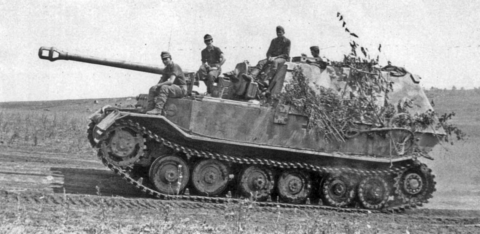 Ferdinand self-propelled gun