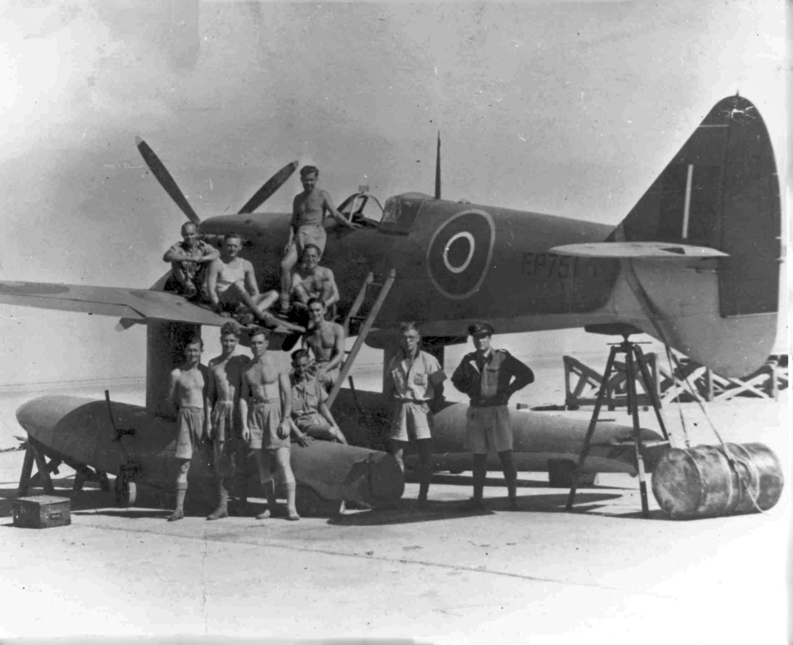 Spitfire Floatplane EP751