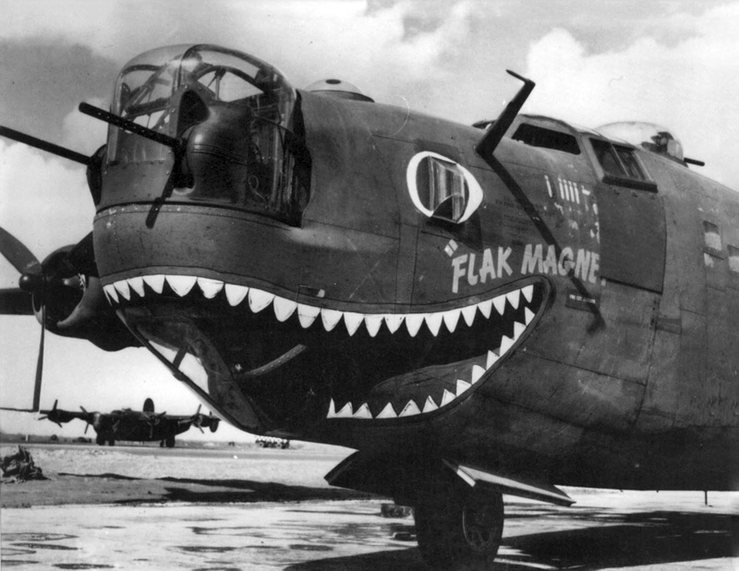 B-24 Flak magnet