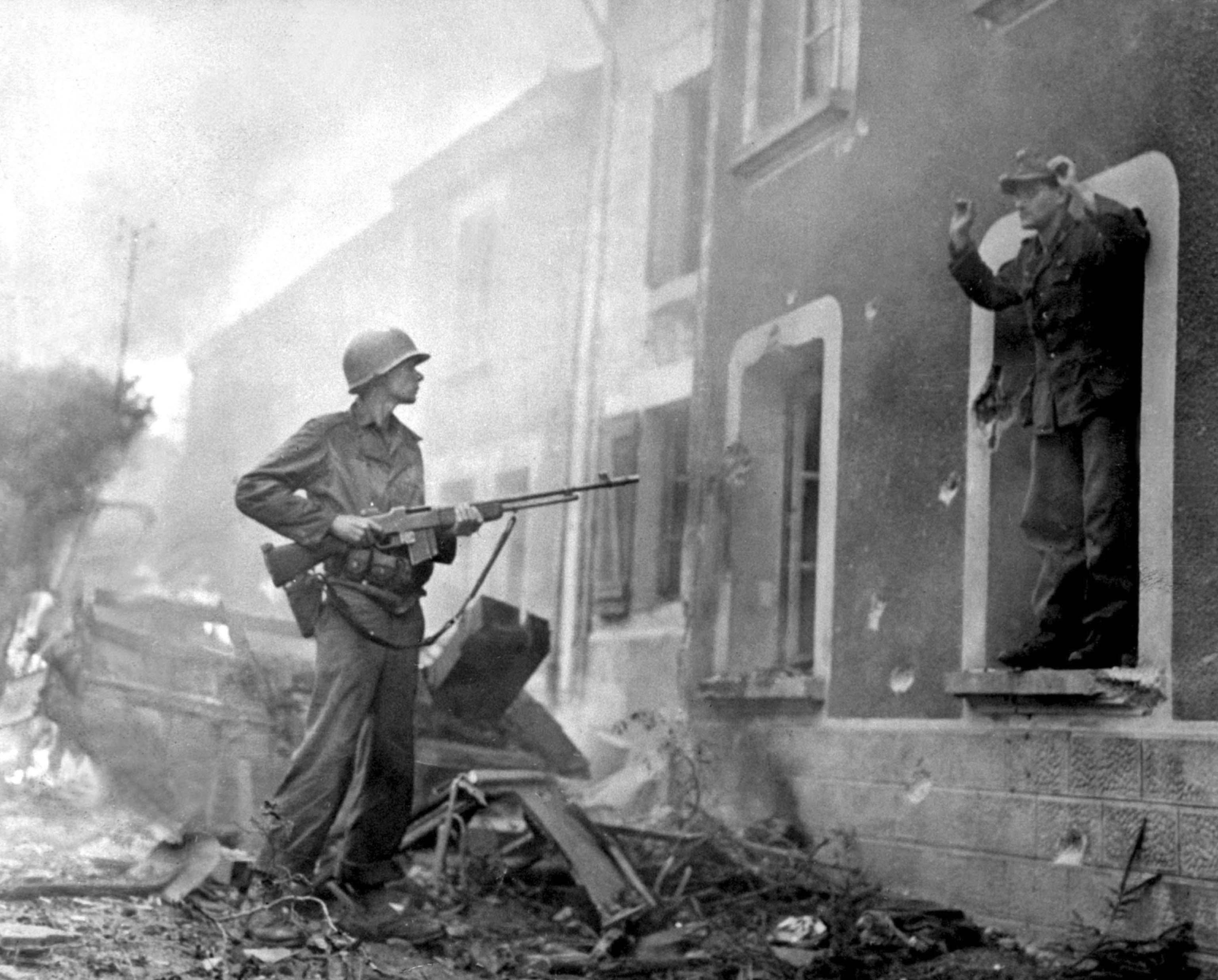 A German soldier