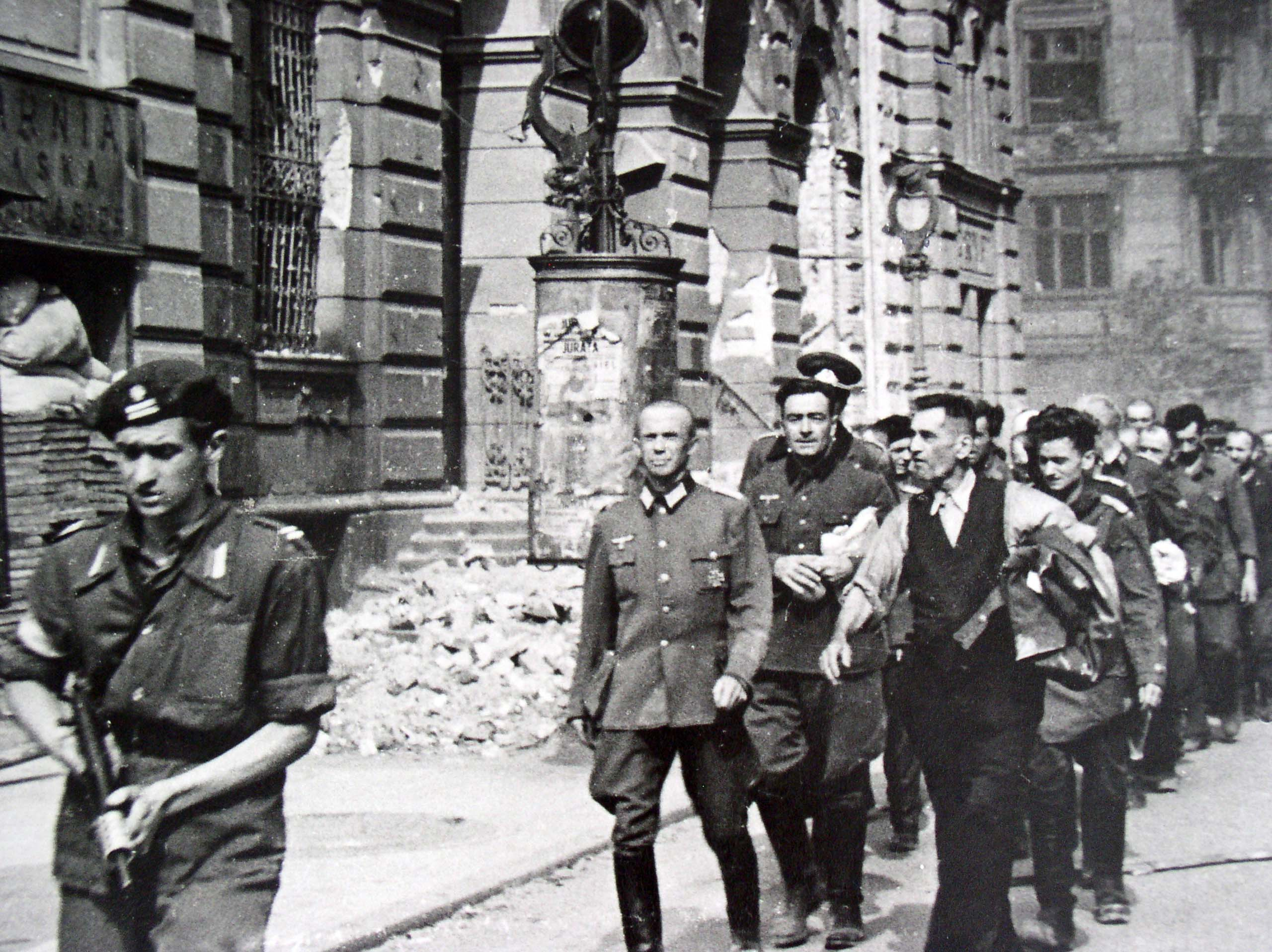 German prisoners of war, Warsaw rebels