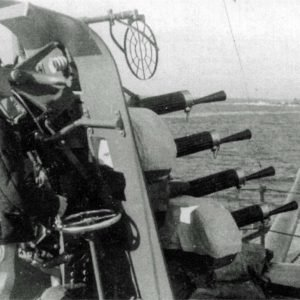 Anti-aircraft gun Vickers