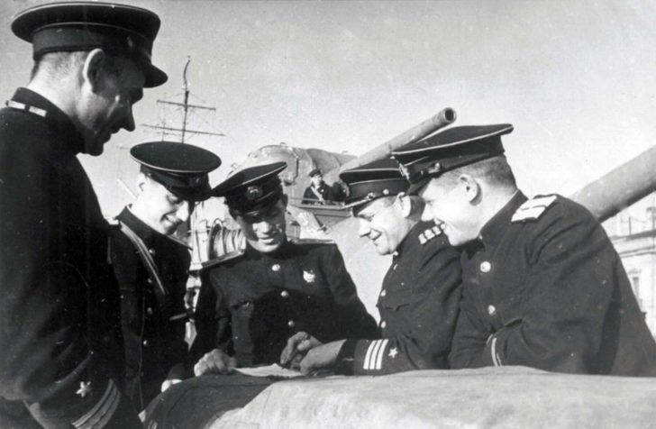 Soviet naval officers