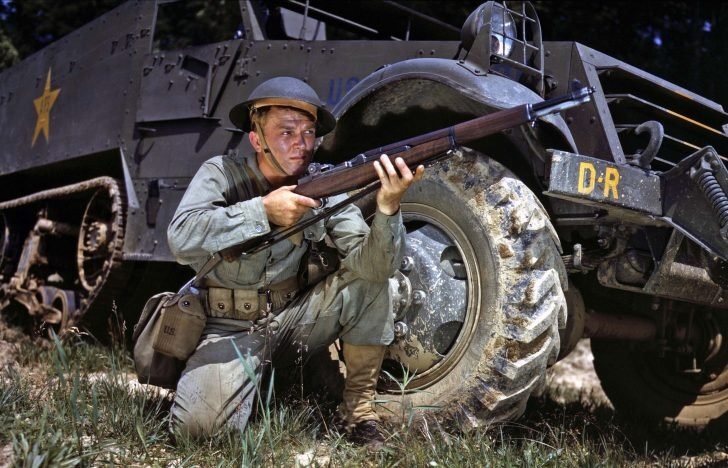 American soldier, M3A3