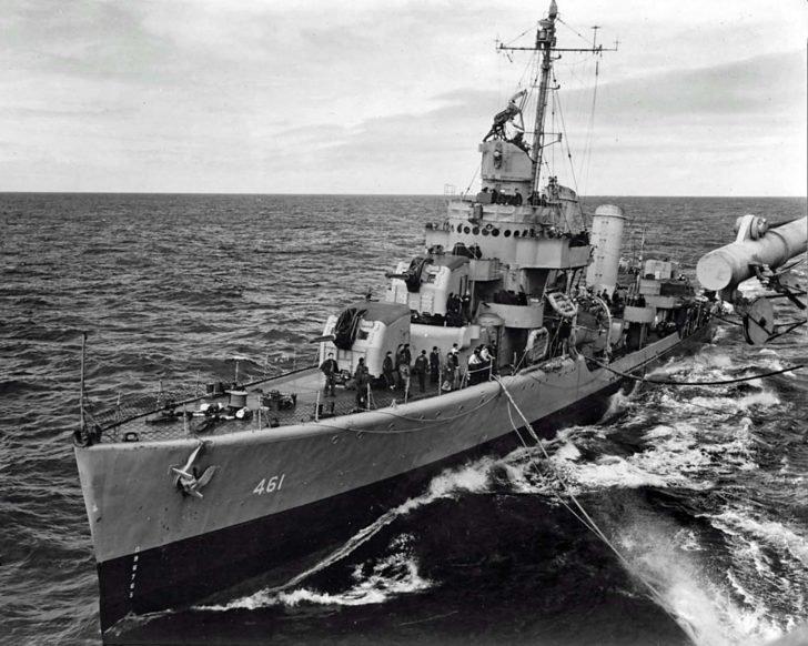 destroyer Forrest