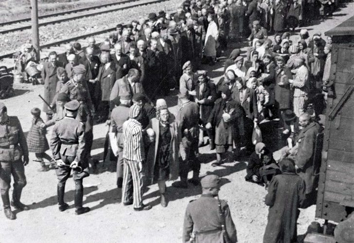 Jews in the concentration camp