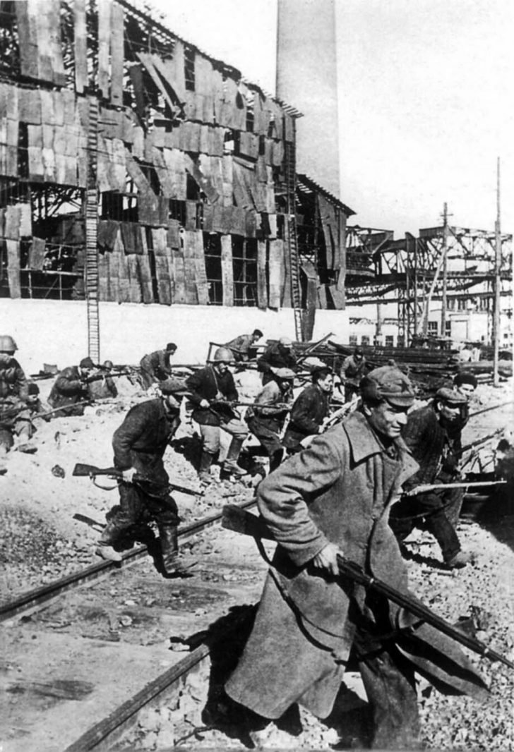 Militiamen of the Stalingrad