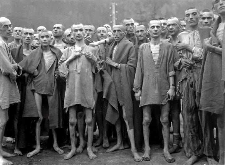 Prisoners of the concentration camp