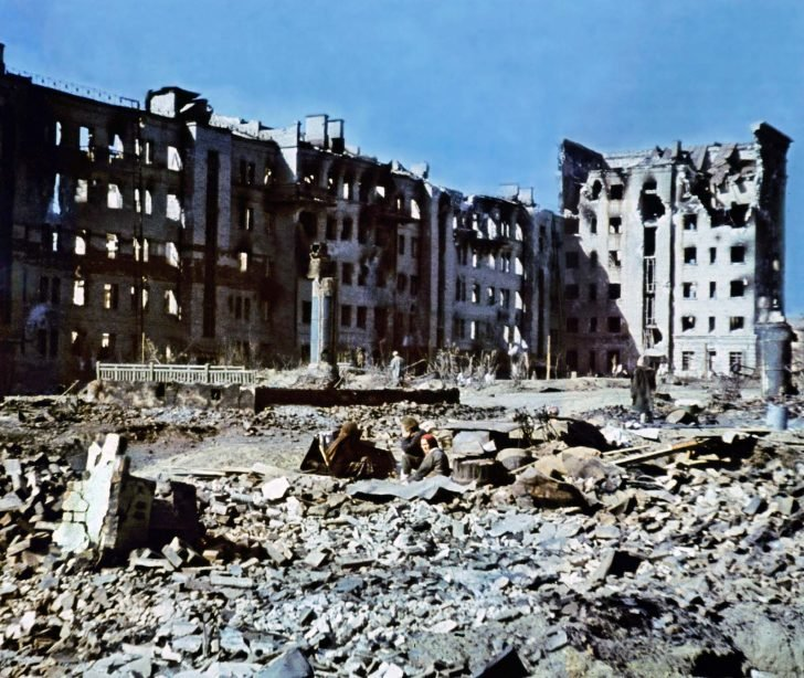 residents Stalingrad