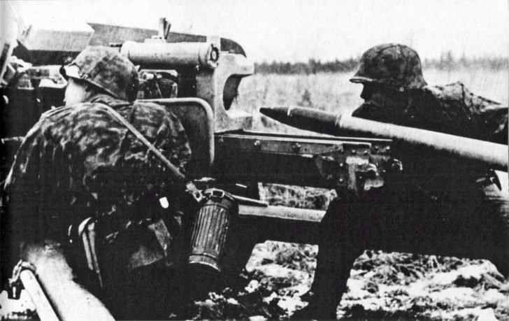 Waffen SS, Pak 40