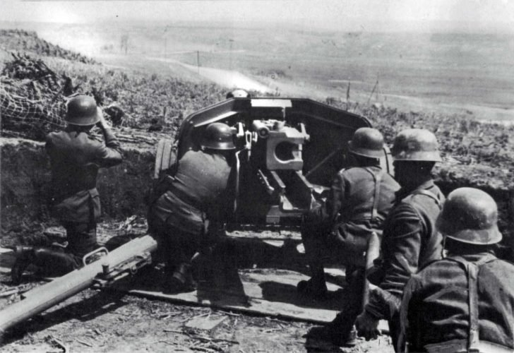 anti-tank gun PaK 40