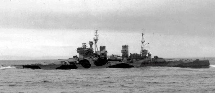 battleship Howe