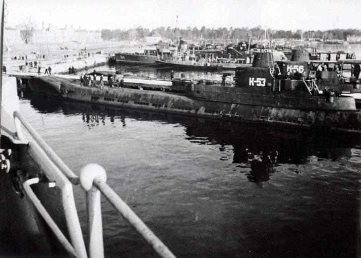 Soviet submarines