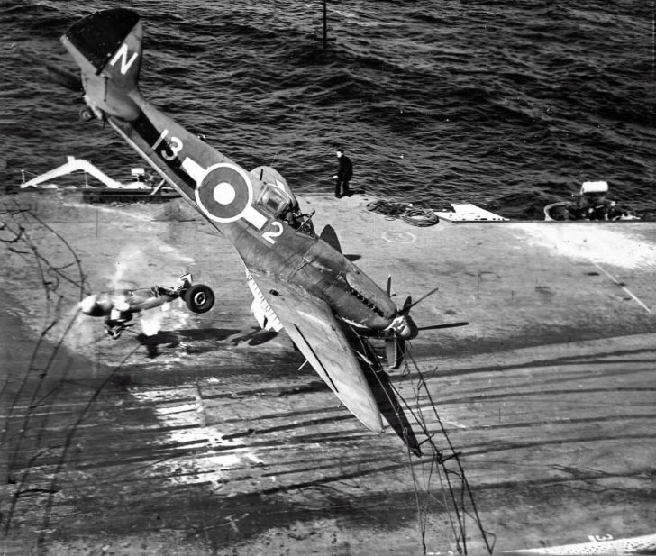Seafire fighter