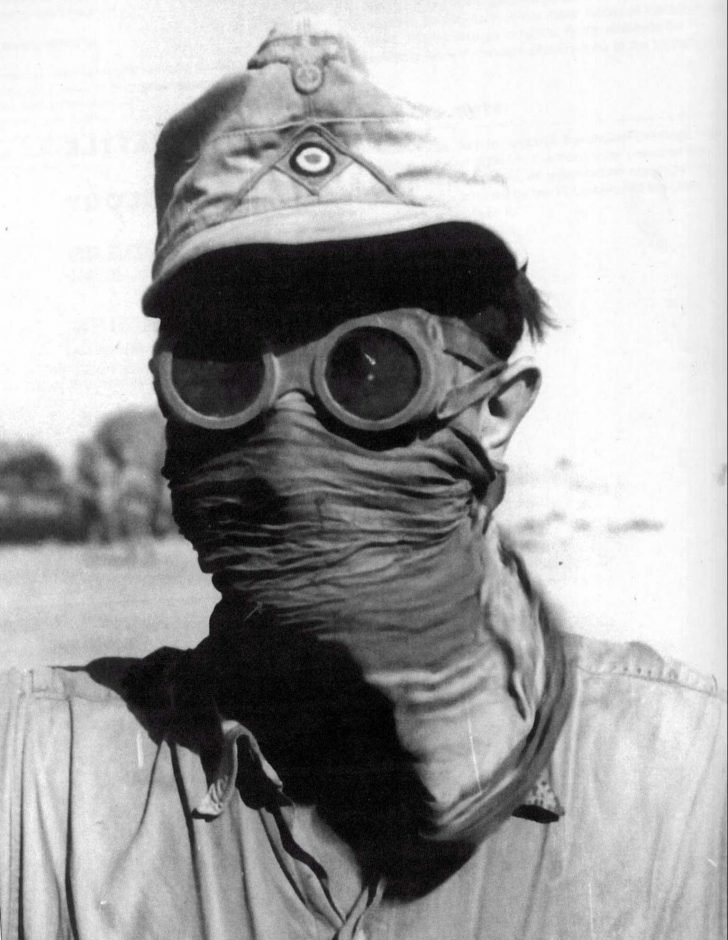 Soldier of the German Afrika Korps