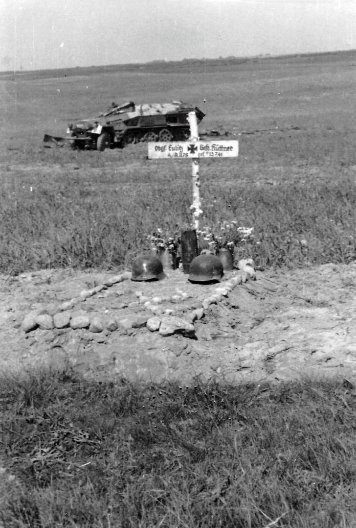 Grave of German soldiers
