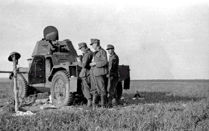2. Gebirgs-Division, Panhard 178