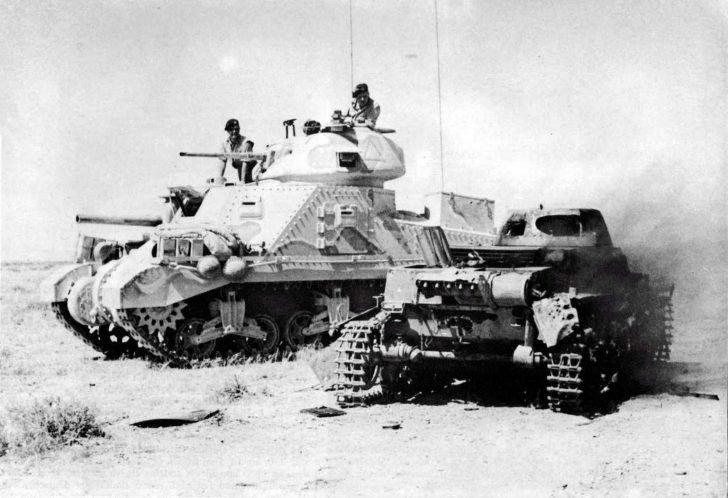 M3 Grant, Panzer I