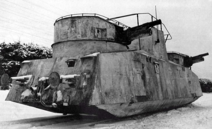 moto-armored car D-2