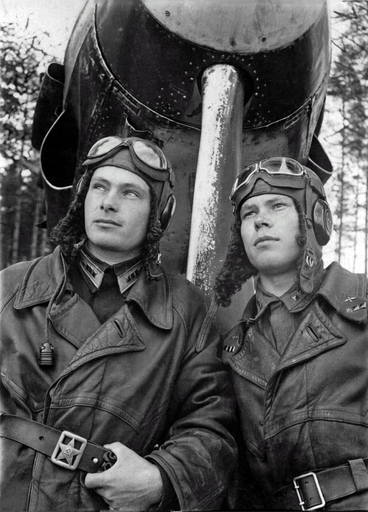 Soviet pilots