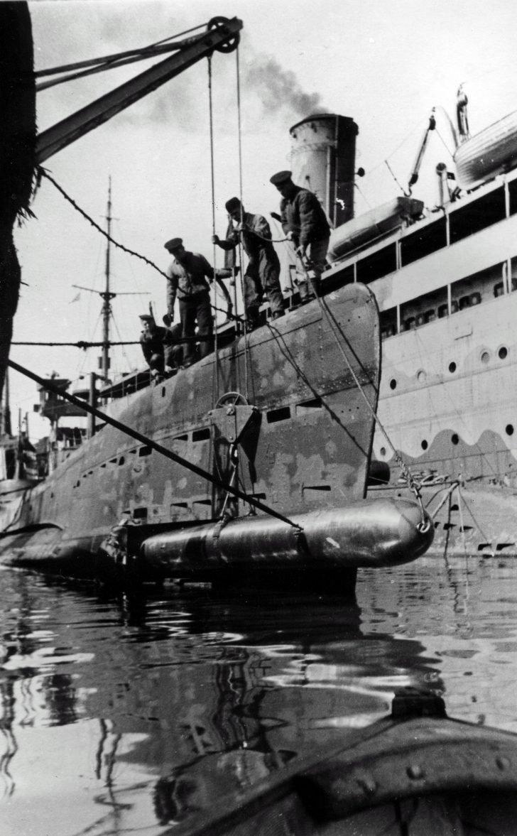submarine Shch-215