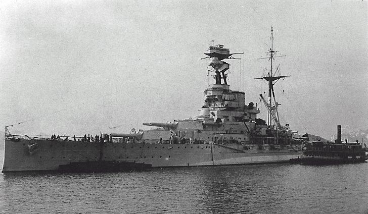 battleship Ramillies