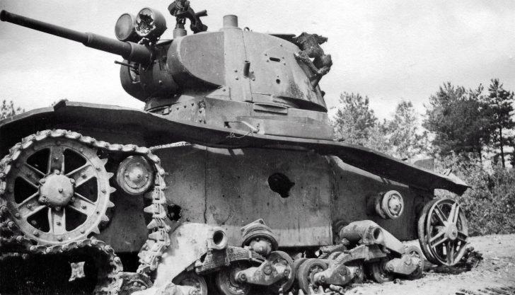 T-26 tank