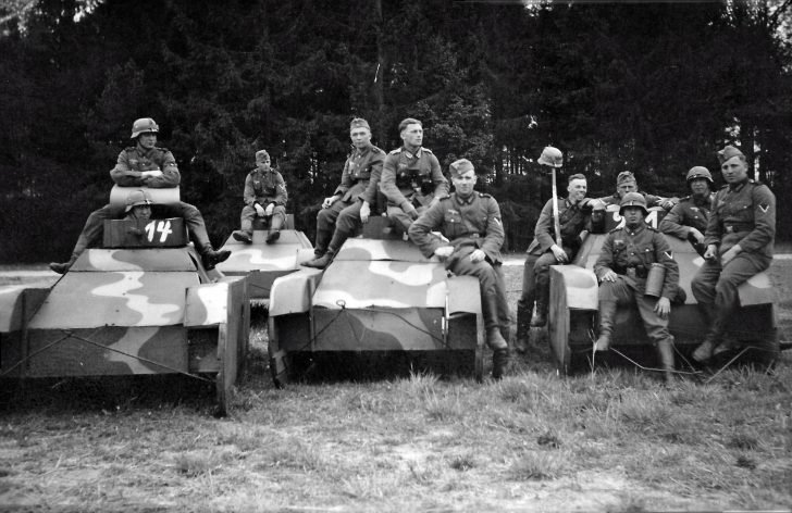 German tankmen
