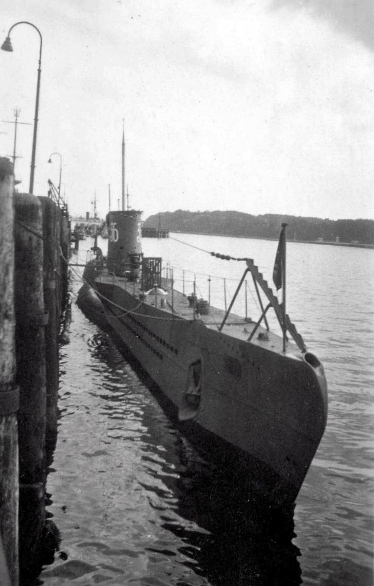 submarine U-36