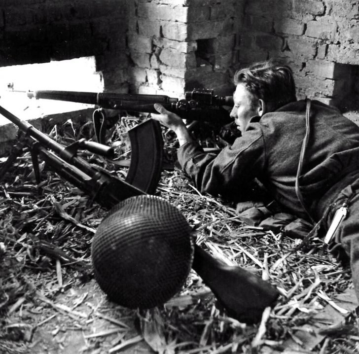 sniper Jack Bailey