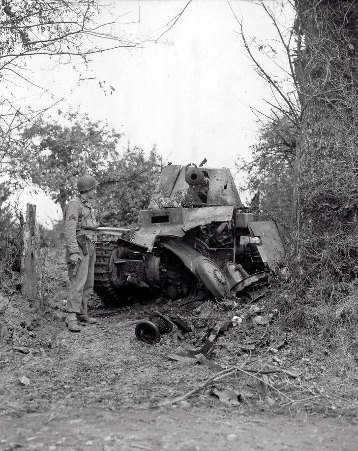 destroyed Marder III