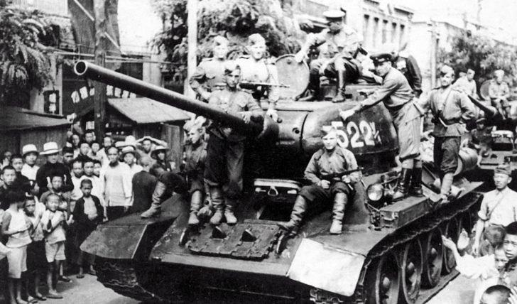 T-34-85 tanks
