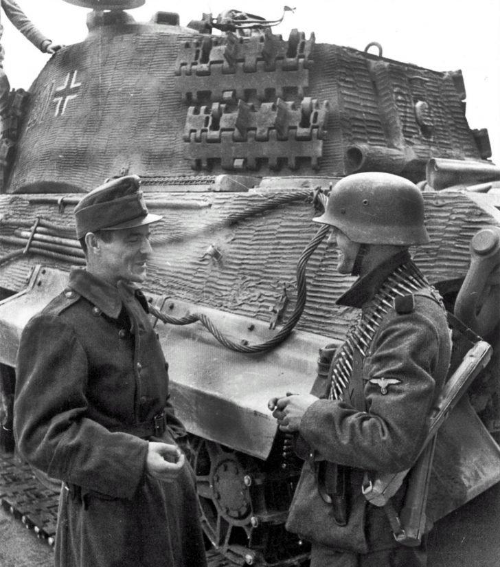 Hungarian Honvéd, SS soldier