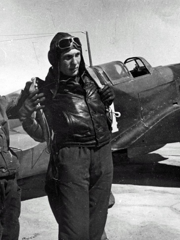 Soviet pilot Major Andrey Chirkov