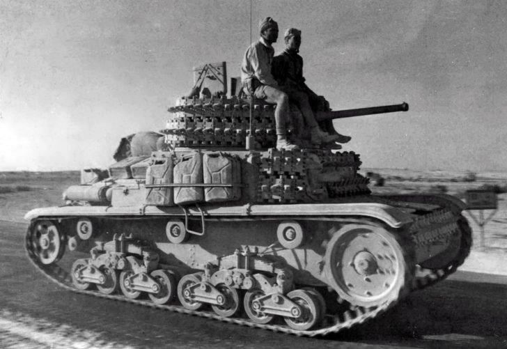 tank Fiat-Ansaldo M13/40