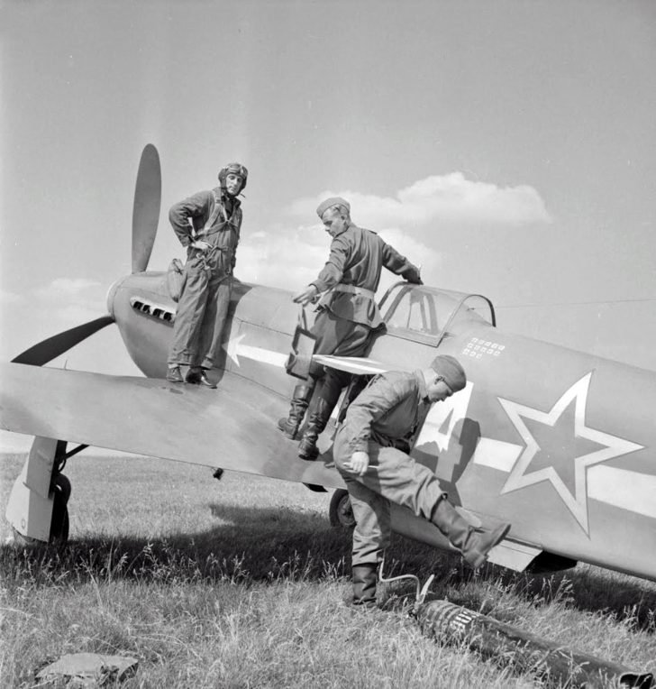 Yak-3 fighter from the Normandie-Niemen regiment