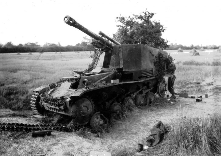 Wespe self-propelled howitzer