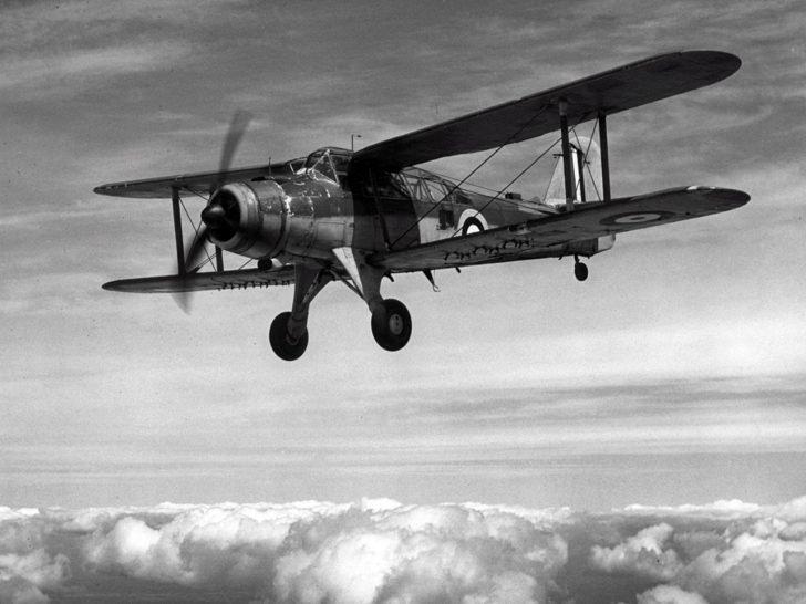 bomber Fairey Albacore