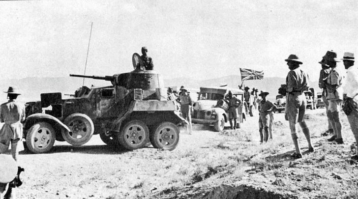 armored car BA-10 in Iran