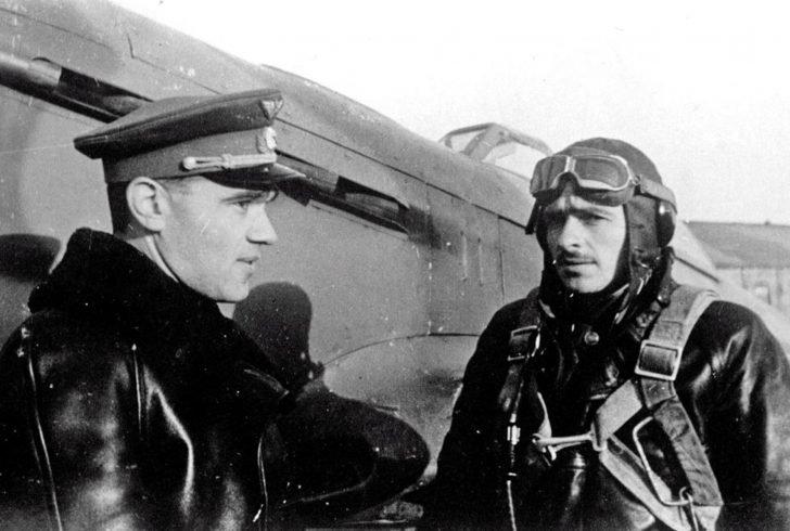 A. Yakovlev, P. Pokryshev, Yak-9