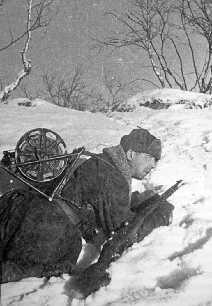 Soviet signalman