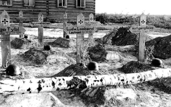Graves of German soldiers