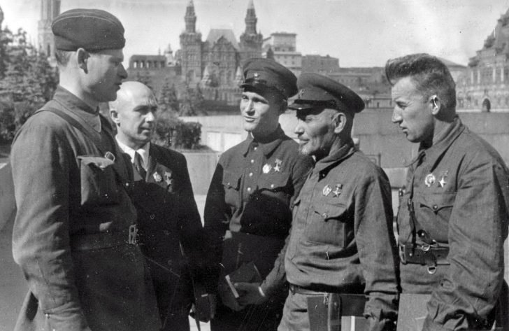 The commanders of partisan