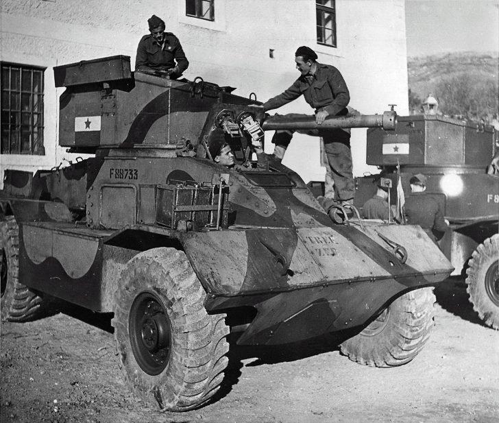 Armored vehicles А.Е.С.